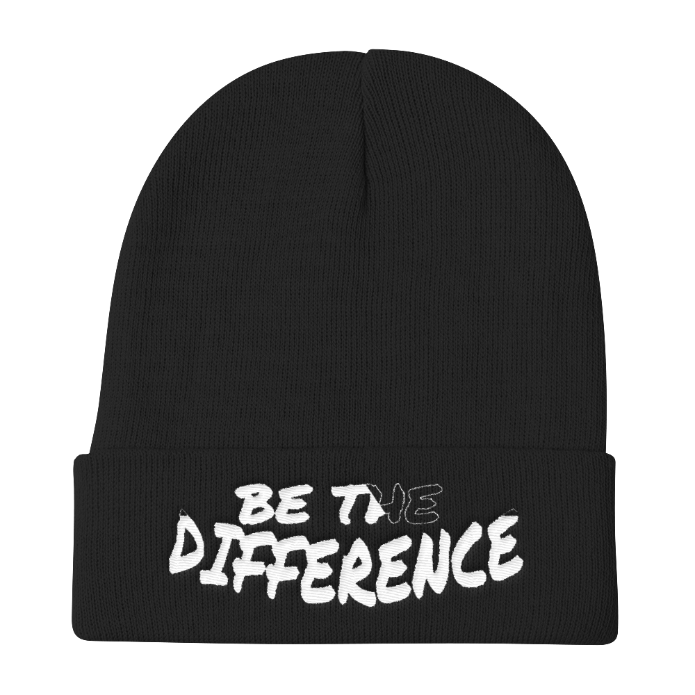 Be the Difference Beanies - Be Ye AWARE Clothing