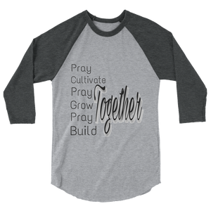 Pray Together Men/UnisexBaseball Tees - Be Ye AWARE Clothing