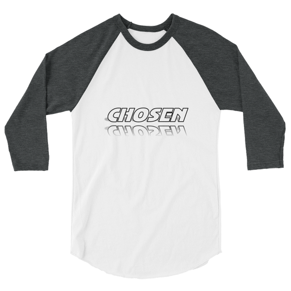 CHOSEN Men/Unisex Baseball Tees - Be Ye AWARE Clothing