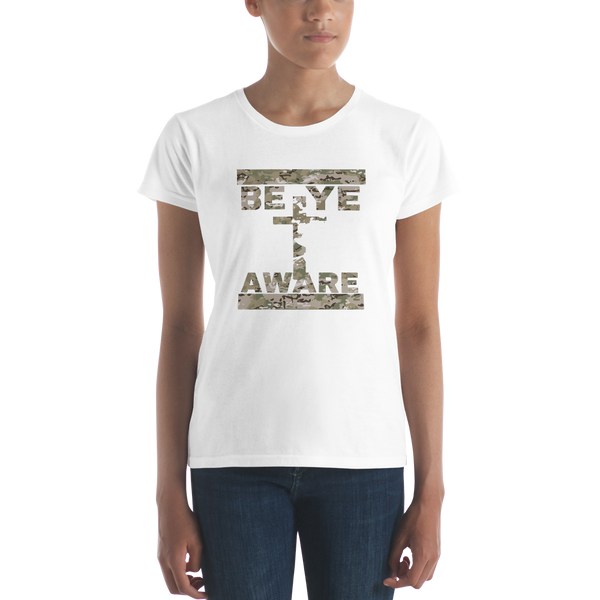 BYA Fatigue Ladies' Tees - Be Ye AWARE Clothing