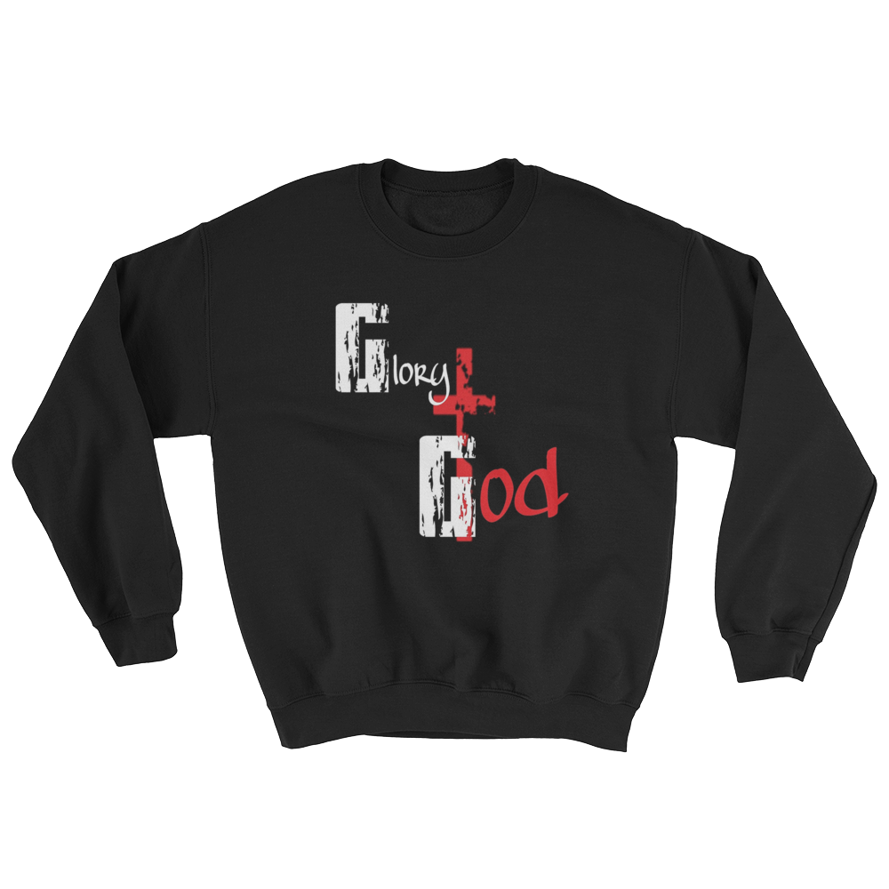Glory to God Men/Unisex Sweatshirts - Be Ye AWARE Clothing