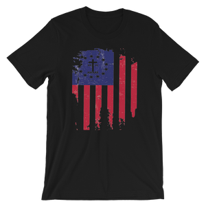 Betsy's Tattered Old Glory Men's/Unisex Tees
