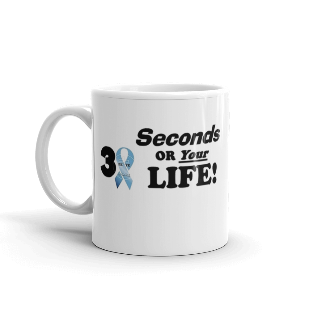 Prostate Cancer Awareness Mug - Be Ye AWARE Clothing