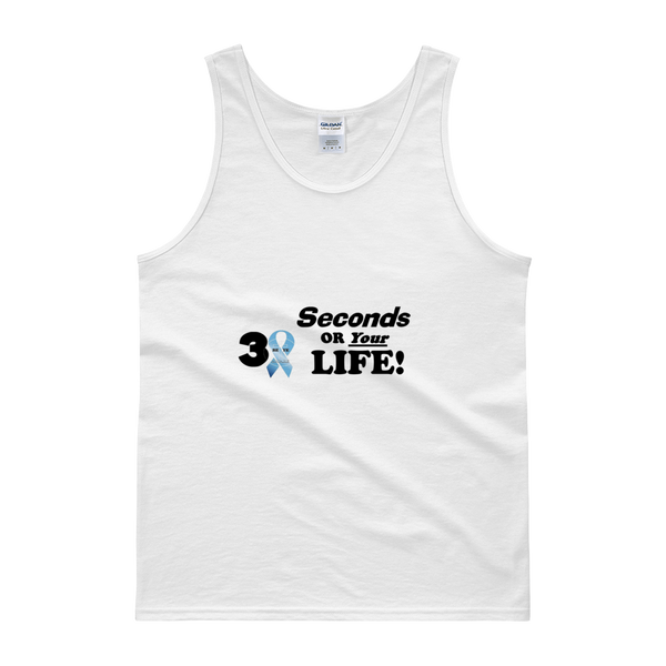 PCA 30 Sec or Life Tanks - Men - Be Ye AWARE Clothing