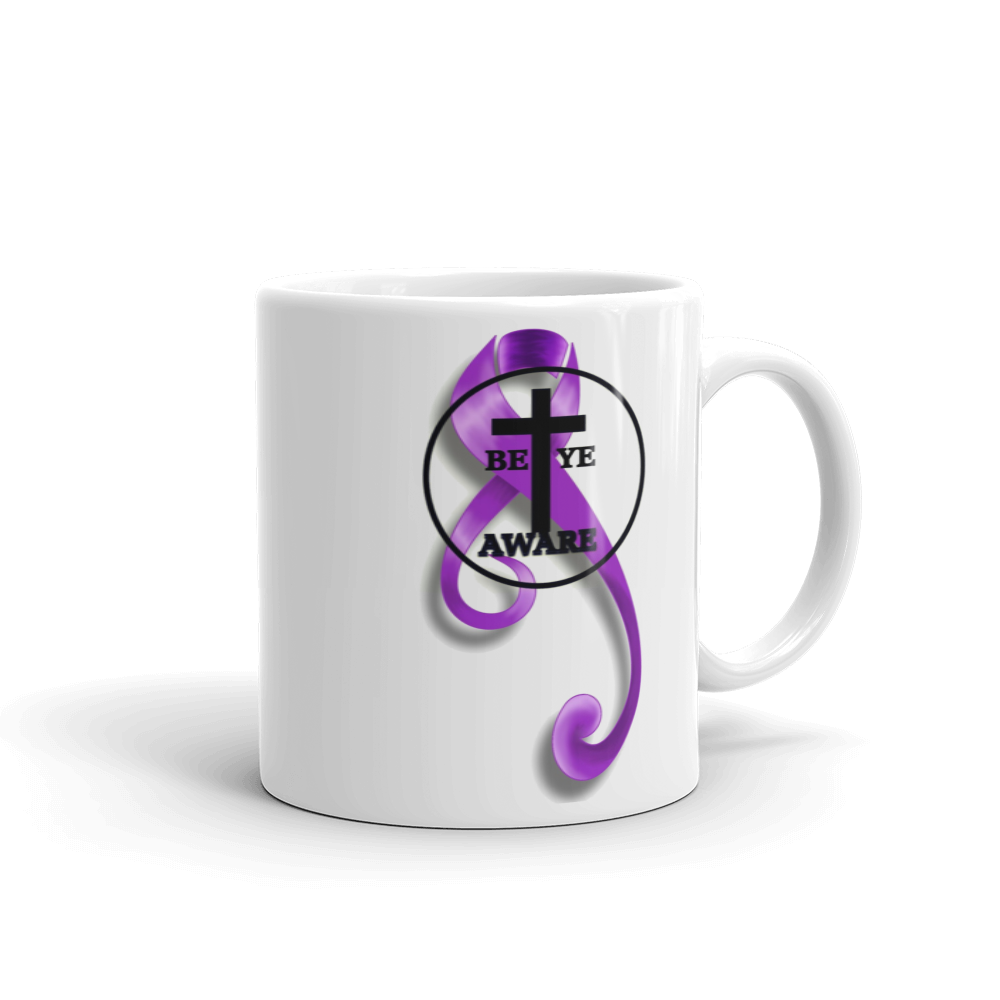 DVA Awareness Mug - Be Ye AWARE Clothing