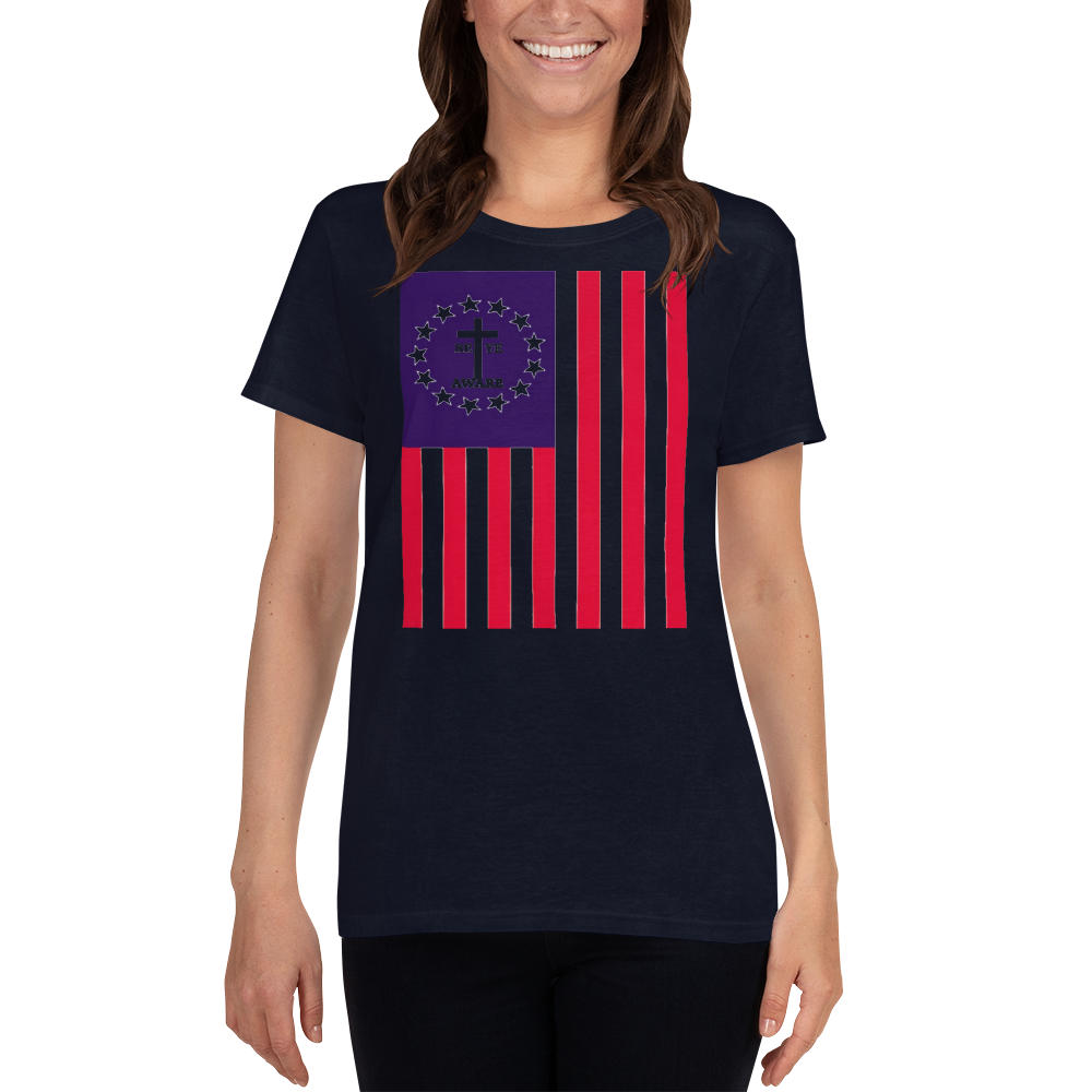 Betsy's Old Glory Ladies Tee