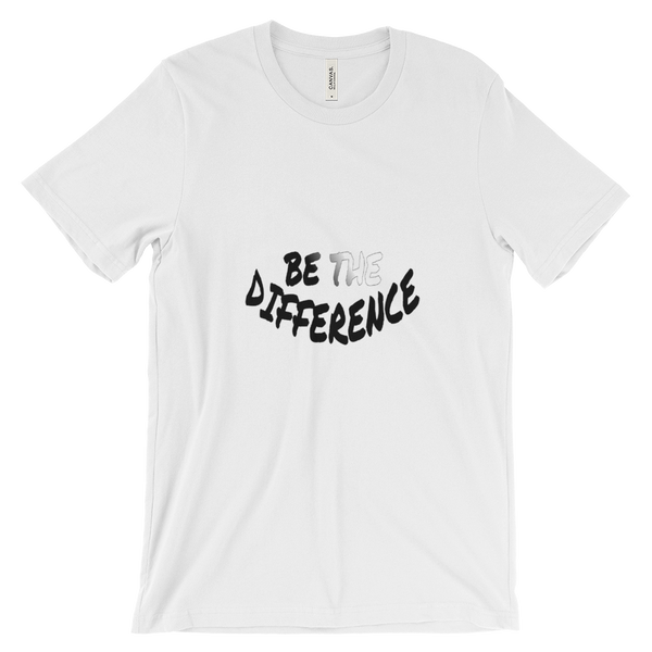 Be The Difference Tees - Men/Unisex