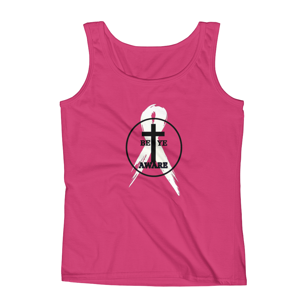 BCA Ladies' Awareness Tank - Pink - Be Ye AWARE Clothing