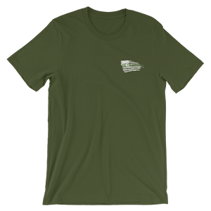 Military Courage II Embroidered Men/Unisex Tees - Be Ye AWARE Clothing