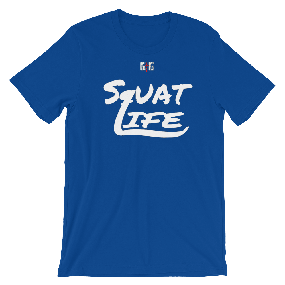 Squat Life Men's/Unisex Tees - Be Ye AWARE Clothing