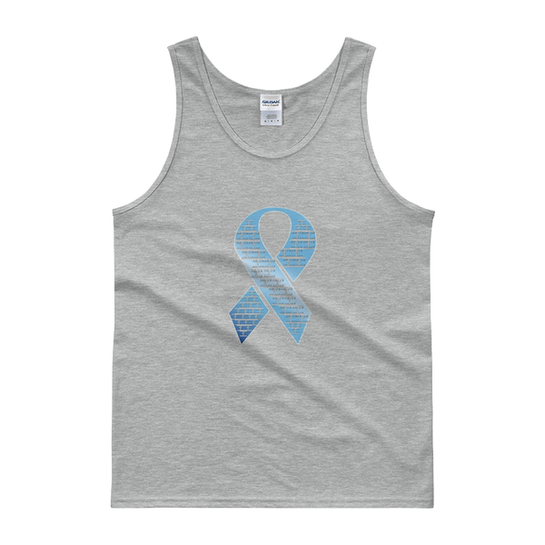 BYA Prostate Cancer Awareness Tanks - Men/Unisex - Be Ye AWARE Clothing