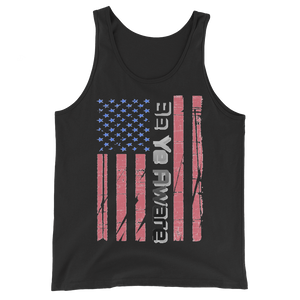 Old Glory - Men's/Unisex Tanks - Be Ye AWARE Clothing
