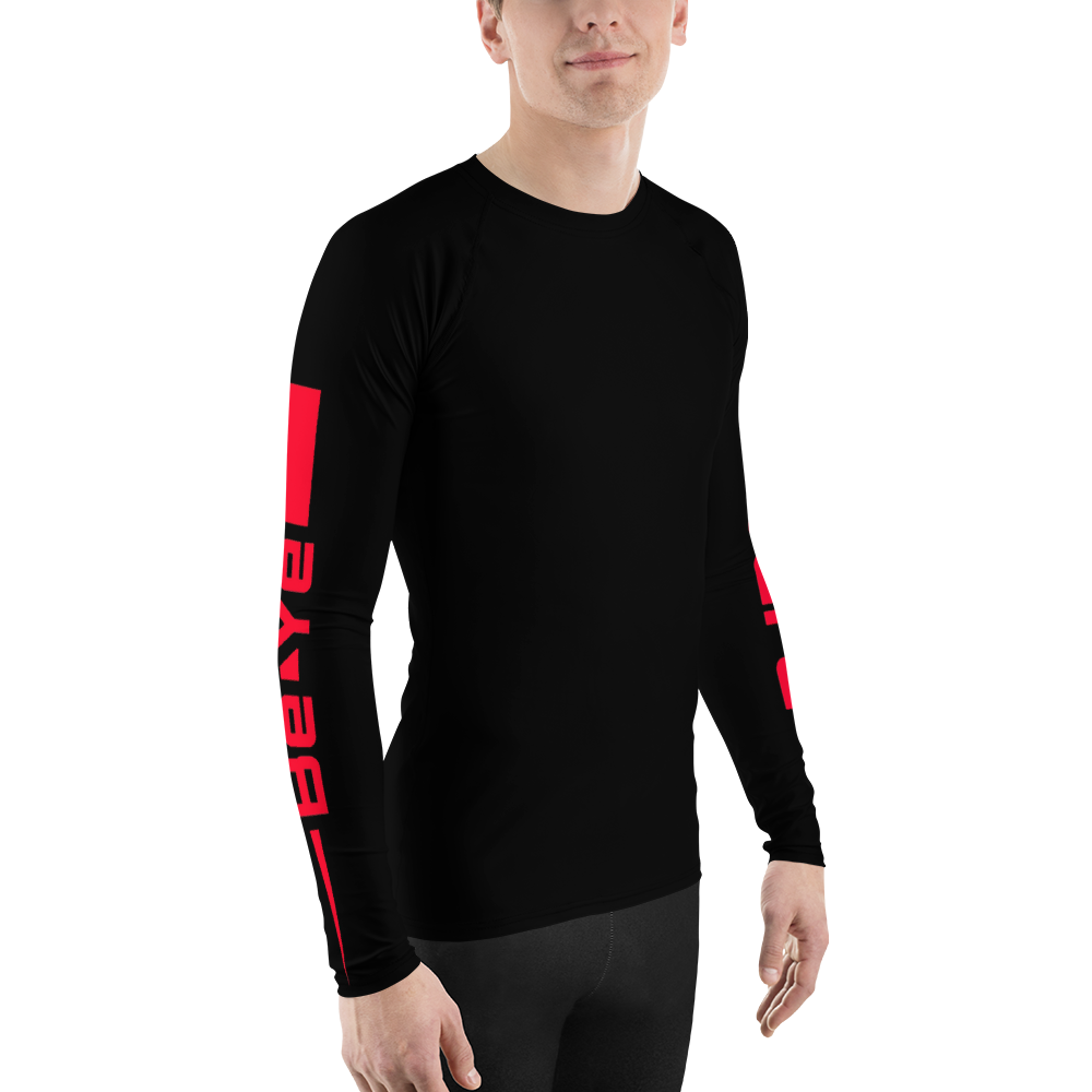 Be Ye AWARE Stipe Men's Rash Guards