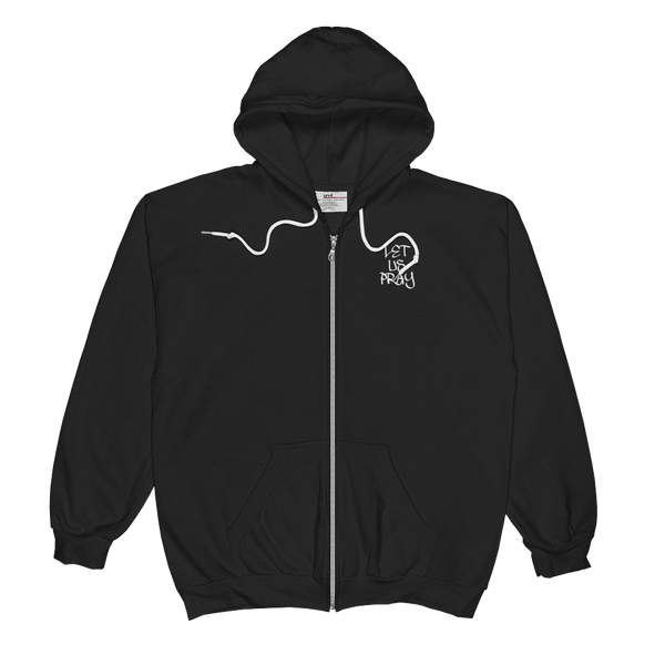 Let Us Pray Men/Unisex Zip Hoodies - Be Ye AWARE Clothing