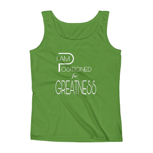 Positioned for Greatness Ladies Tanks - Be Ye AWARE Clothing