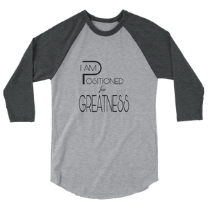 Positioned for Greatness Men/Unisex Baseball Tees - Be Ye AWARE Clothing