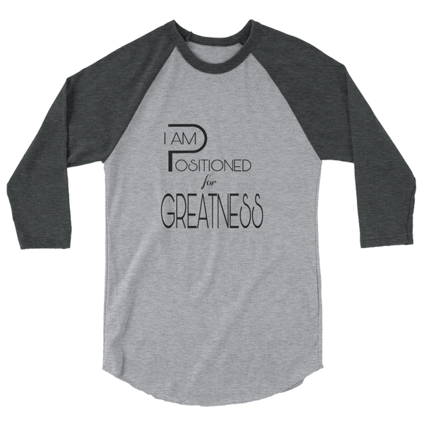 Positioned for Greatness Baseball Tees - Be Ye AWARE Clothing