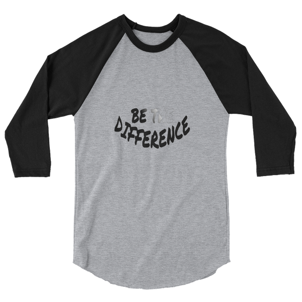 Be The Difference Baseball Tees - Be Ye AWARE Clothing