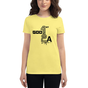 God 1st 2A Ladies' Tees