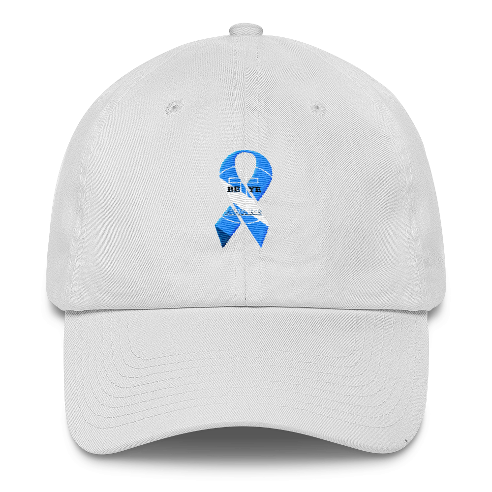 BEYE Prostate Cancer Awareness Dad Caps - Be Ye AWARE Clothing