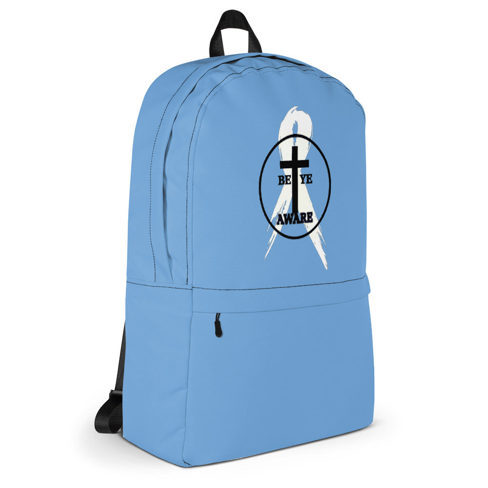 Prostate Cancer Awareness Backpacks
