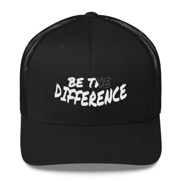 Be The Differene Trucker Caps