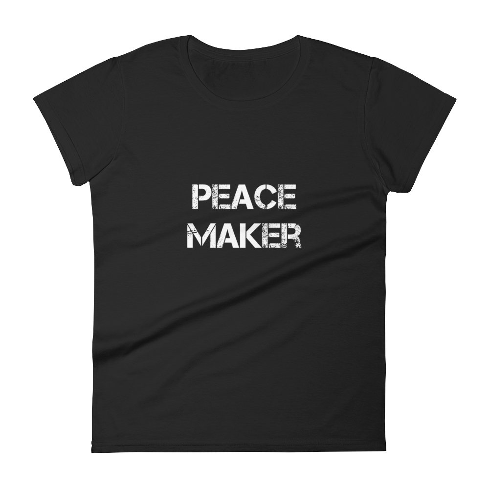 Peace Maker Ladies Tees - Be Ye AWARE Clothing