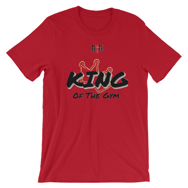 King of the Gym - Men's/Unisex Tees - Be Ye AWARE Clothing