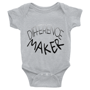 Difference Maker Baby Onesies - Be Ye AWARE Clothing