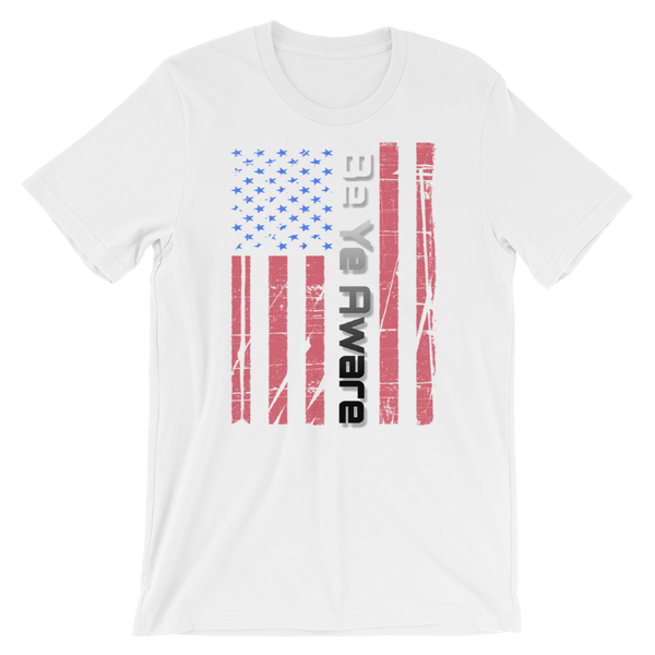 Old Glory - Men's/Unisex Tees - Be Ye AWARE Clothing