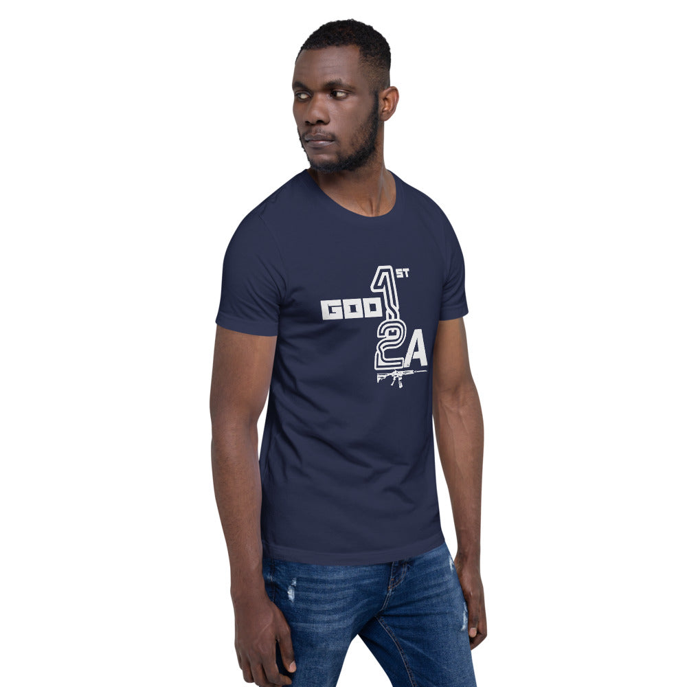 God 1st 2A Mens/Unisex Tees