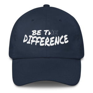 Be the Difference Dad Caps - Be Ye AWARE Clothing