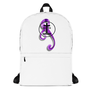 Domestic Violence Awareness Backpacks