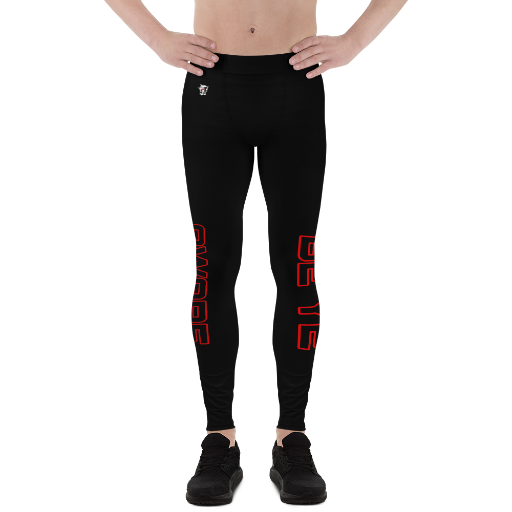 Be Ye AWARE Men's Athletic Rash Guard Leggings - Be Ye AWARE Clothing