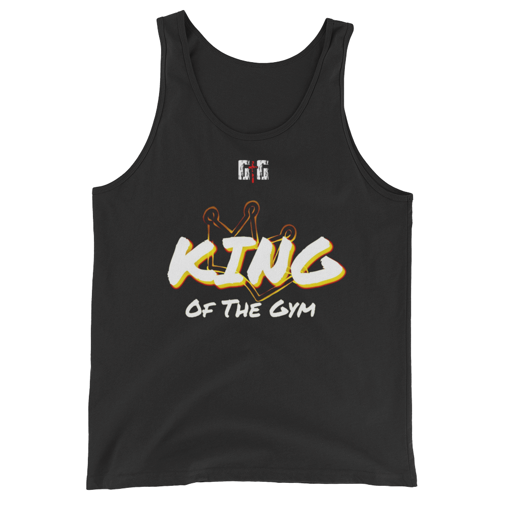 King of the Gym - Men's/Unisex Tanks - Be Ye AWARE Clothing