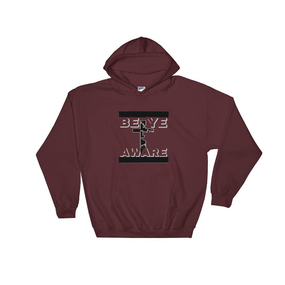 BYA Men/Unisex Hoodies - Be Ye AWARE Clothing