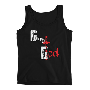 Glory to God Ladies' Tanks - Be Ye AWARE Clothing