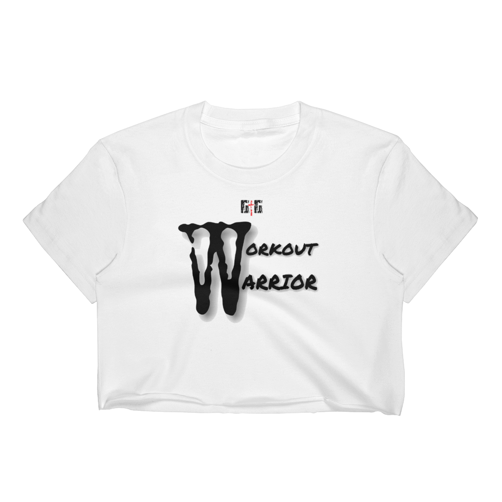Workout Warrior Ladies' Crop Tops