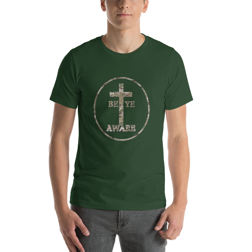 Be Ye AWARE Fatigue Logo - Men's/Unisex Tees - Be Ye AWARE Clothing