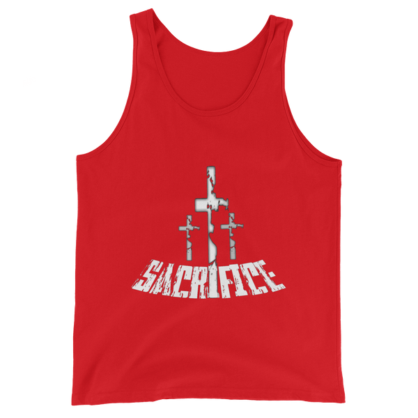 Sacrifice - Men's/Unisex  Tanks - Be Ye AWARE Clothing