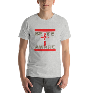BYA Fatigue Red - Mens/Unisex Tees - Be Ye AWARE Clothing