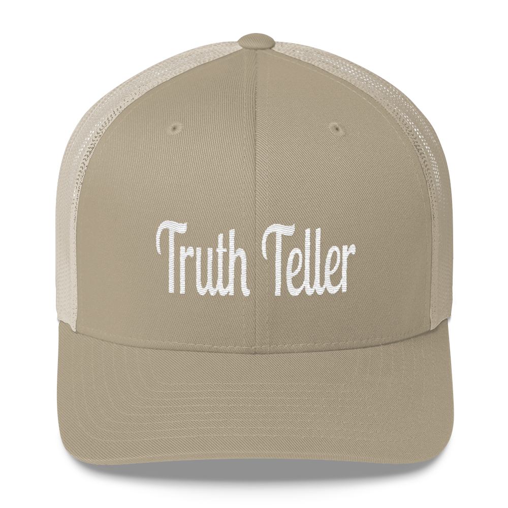 Truth Teller Trucker Caps - Be Ye AWARE Clothing