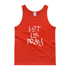 Let Us Pray Tanks - Men/Unisex - Be Ye AWARE Clothing