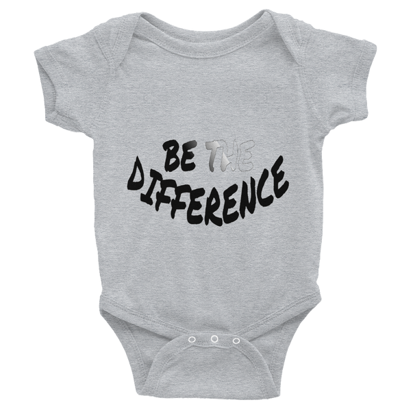 Be the Difference - Unisex Infant Onesies - Be Ye AWARE Clothing