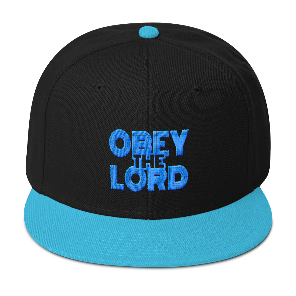 Obey the LORD Unisex Snapback Hats - Be Ye AWARE Clothing