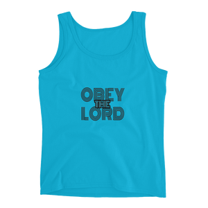 Obey the LORD Ladies' Tanks - Be Ye AWARE Clothing