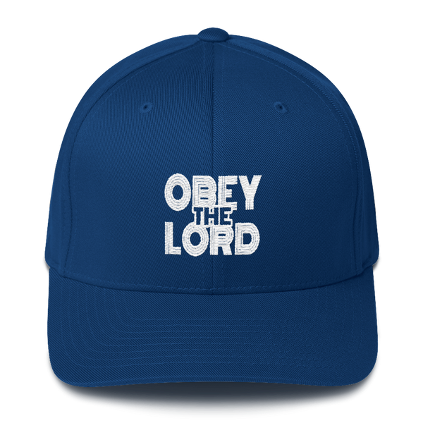 Obey the LORD Unisex Flex-Fit Caps - Be Ye AWARE Clothing