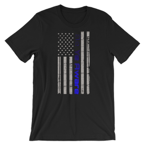 Police Courage Men/Unisex Tees - Be Ye AWARE Clothing