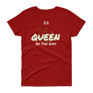 Queen of the Gym Ladies' Tees - Be Ye AWARE Clothing