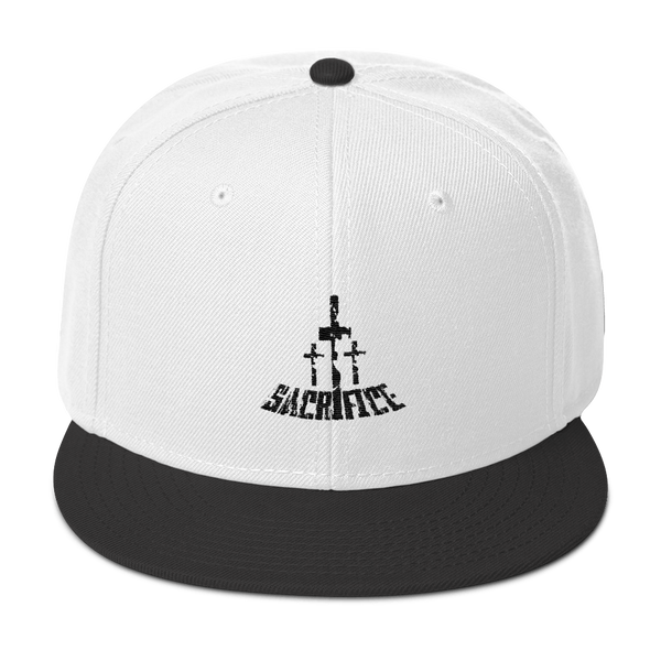 Sacrifice Snapback Hats - Be Ye AWARE Clothing